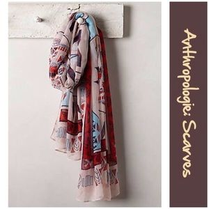 "Anthro ""Wellspring Scarf"" by Printed Village"